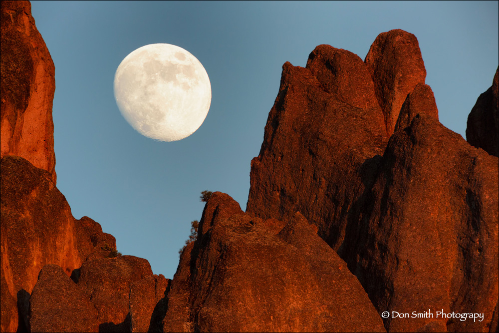 How To Plan For The Moon S Position Pinnacles National