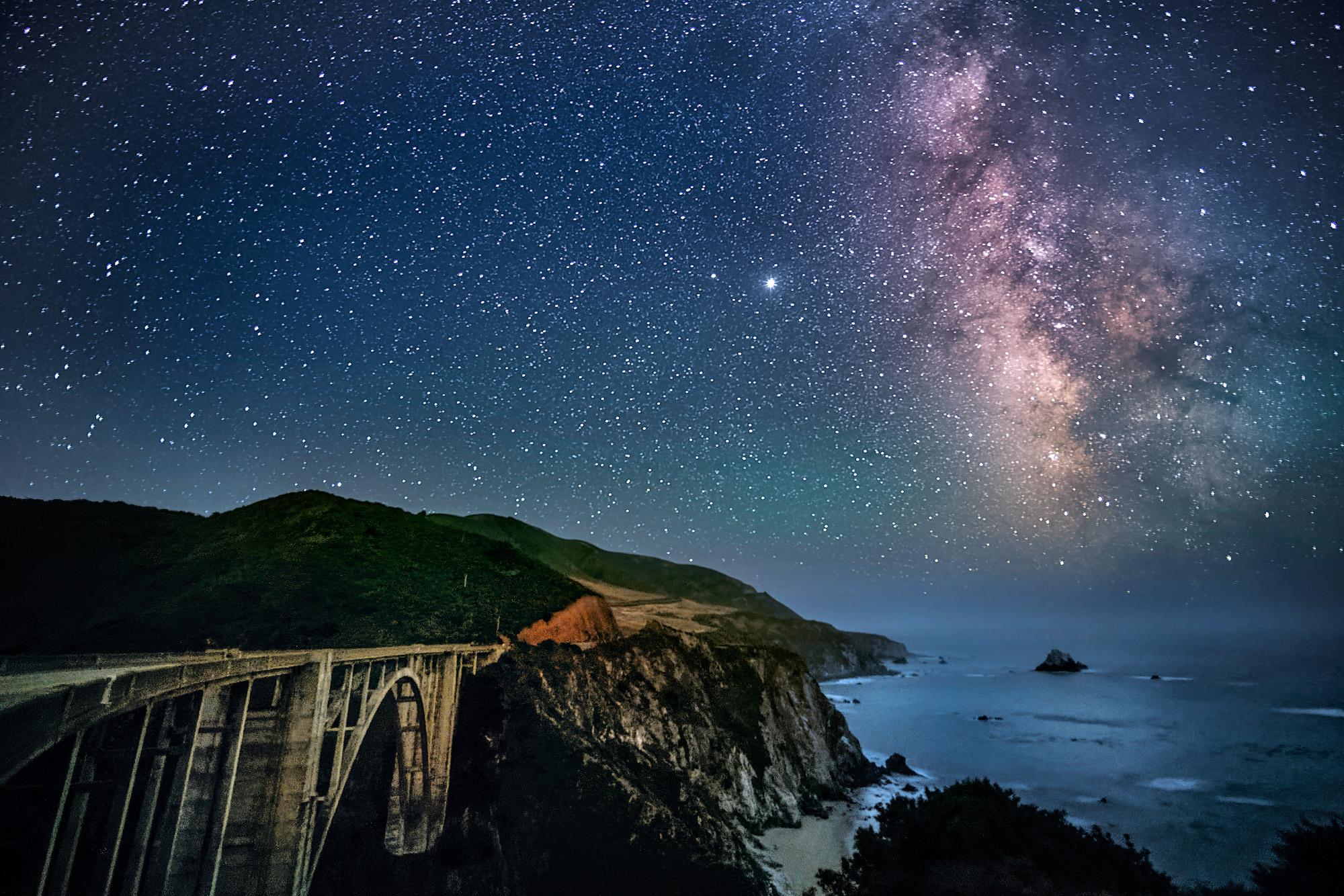 » New Zealands Milky Way looks dreamy